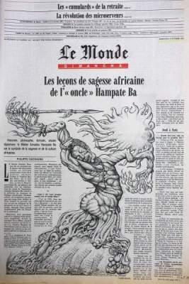 LE MONDE DIMANCHE 2